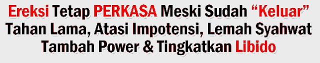GASA Bukan Obat Kuat Biasa | Atasi Impotensi Terbaik