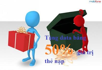 Khuyến mãi data bằng 50% cho TB Fast Connect Mobifone ngày 22/10