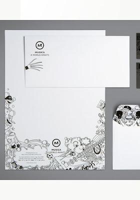 diseños de logotipos en la papeleria
