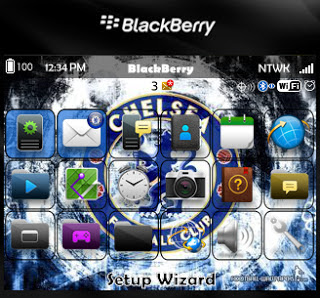 Chelsea Theme for BlackBerry