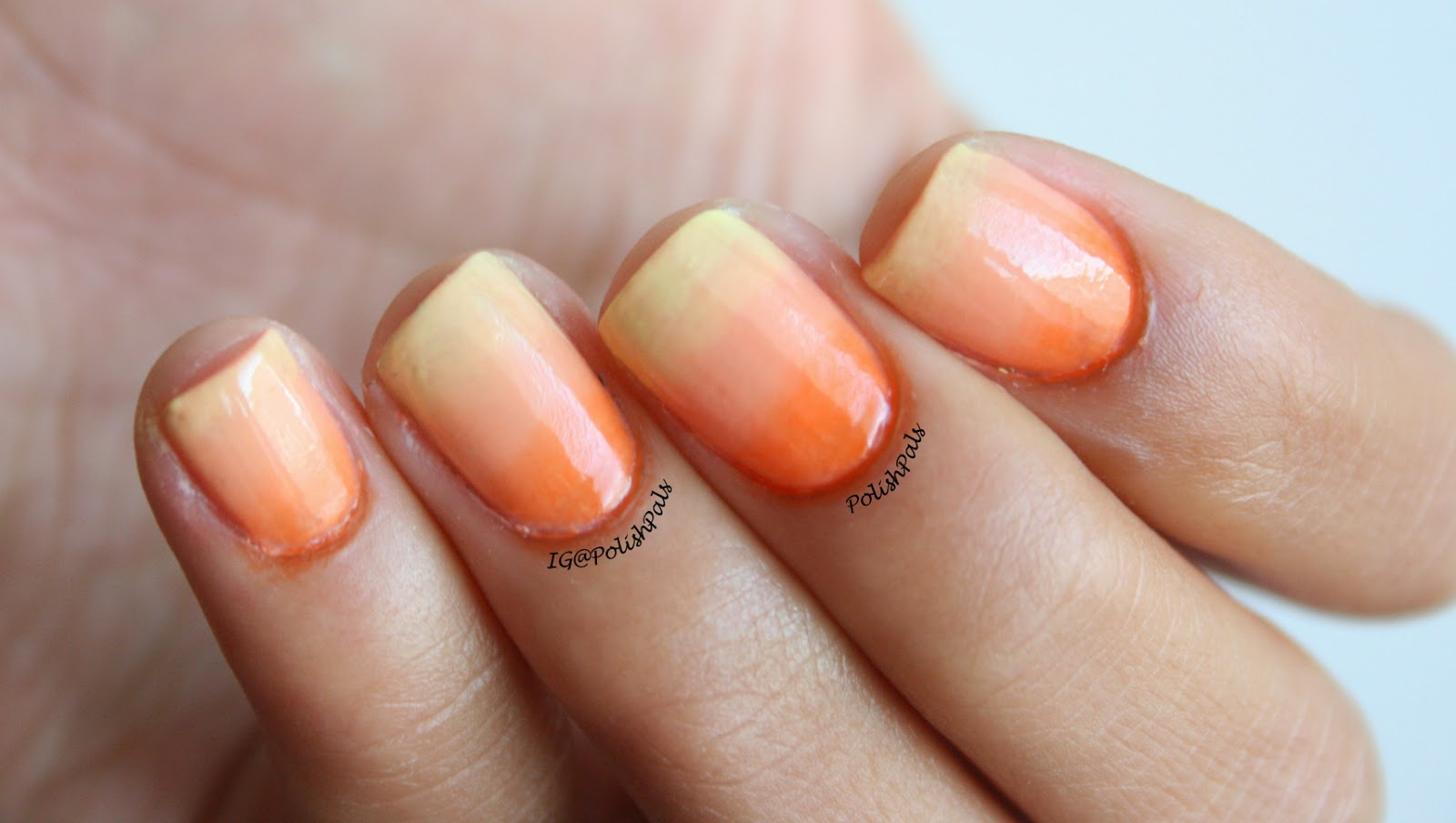 Sunset Gradient Nails
