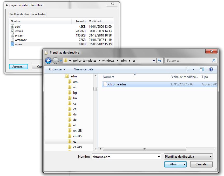 El Foso Del Sarlacc: Controlar Google Chrome mediante Active ...