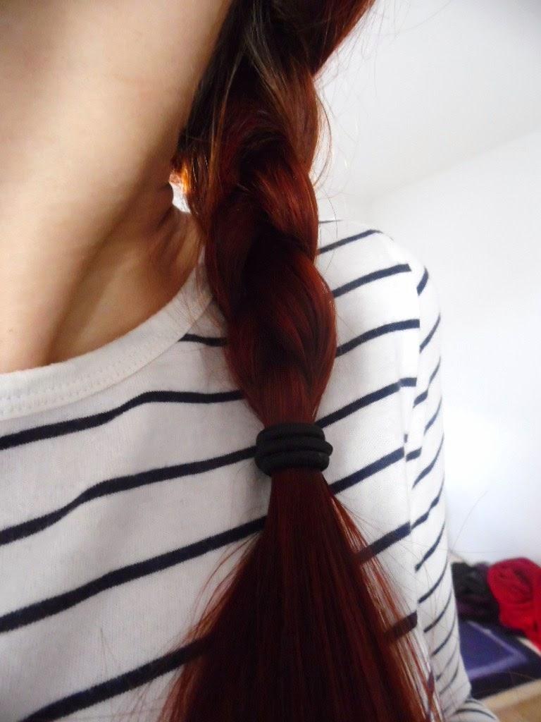 Niedziela dla włosów #15 : olej rycynowy&olej lniany