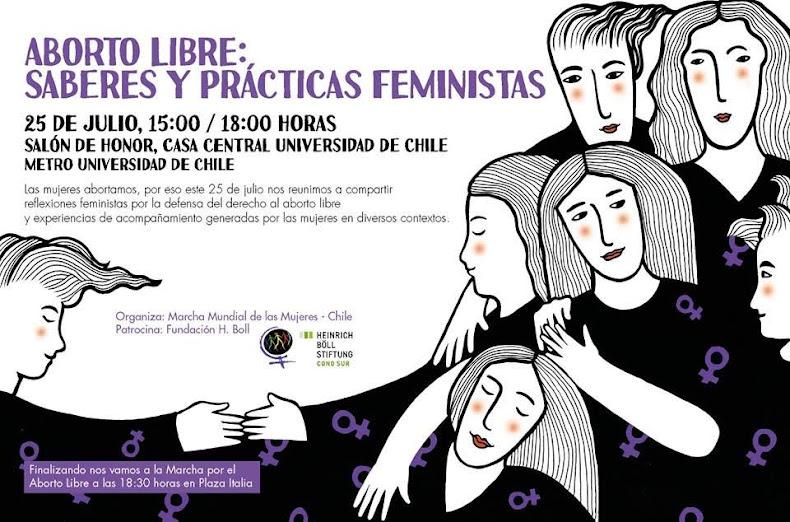 SANTIAGO: ABORTO LIBRE: SABERES Y PRACTICAS FEMINISTAS