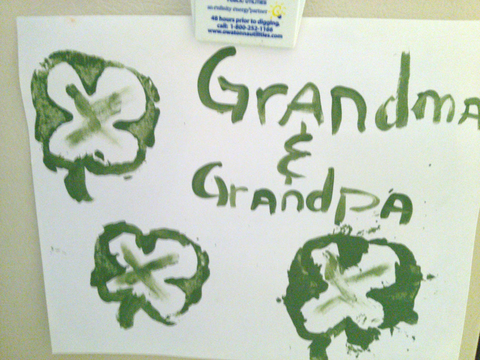 Shamrock Craft made with Pepper Stamp