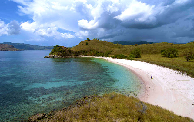 Pink Beach at Komodo Island