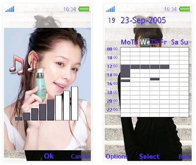 徐若瑄SonyEricsson手機主題for Aino﹝240x432﹞