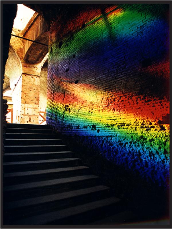 Black*Eiffel: Solar Spectrum Art
