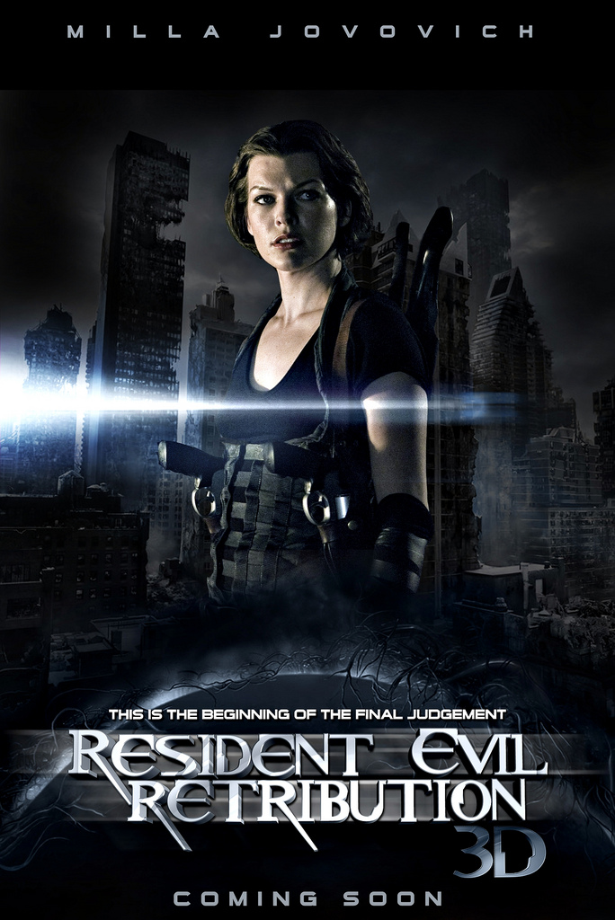 Really. Resident evil retribution movie