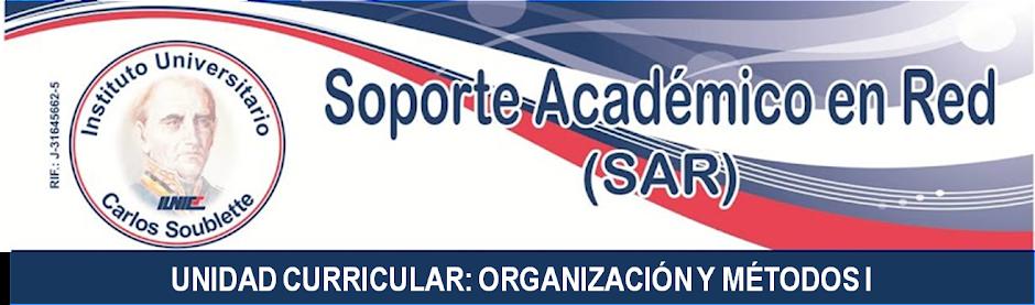 ORGANIZACIÓN Y MÉTODOS I (SR) - IUNICS
