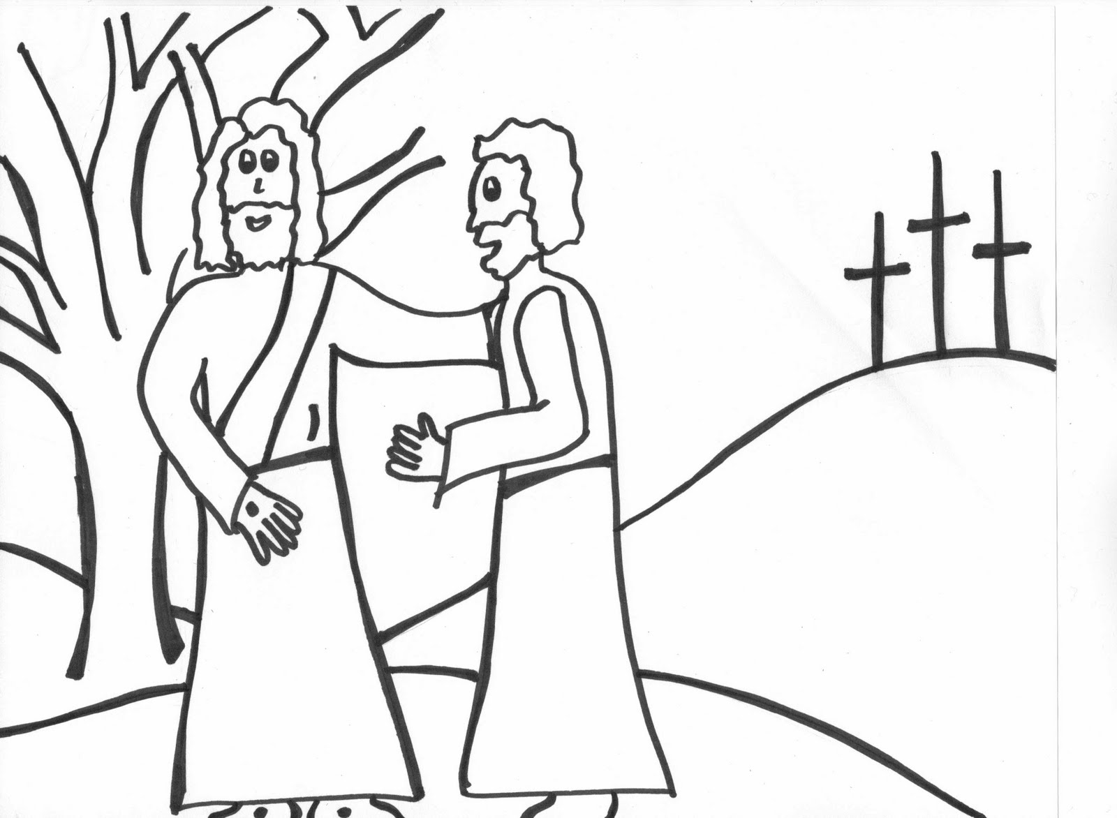 Catholic kids april 2011 for Catholic mass coloring pages