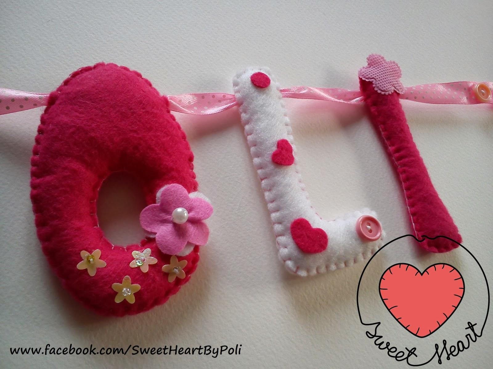 środowe inspiracje na Eco manufaktura Sweet Heart i filcowe ozdoby