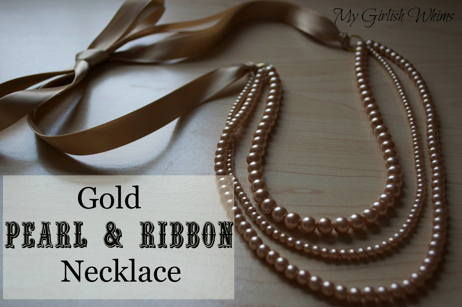 How to make a necklace of ribbons with your own hands 87