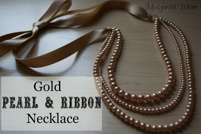 http://www.mygirlishwhims.com/2013/05/gold-pearl-and-ribbon-necklace-tutorial.html