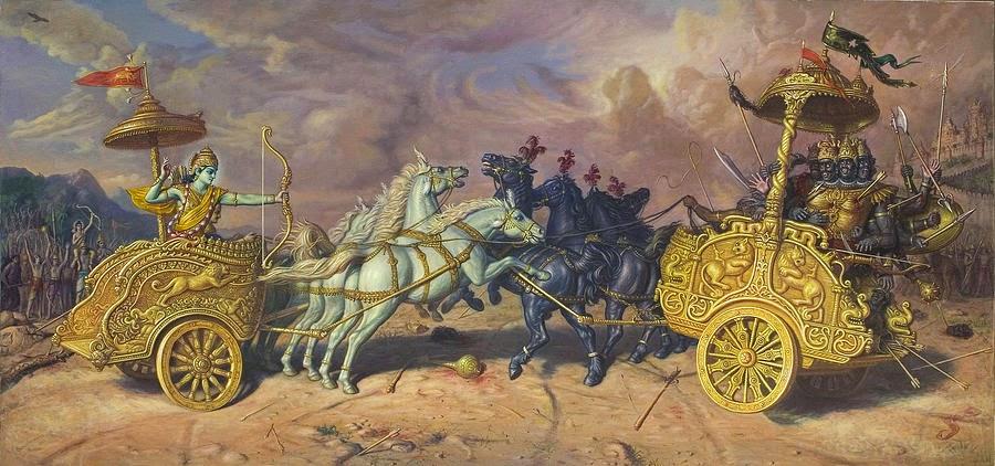 ramayana and mahabharata story summary