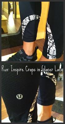 lululemon glacier lace run: inspire crops
