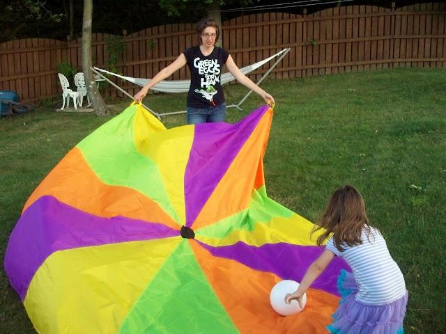 parachute music prop