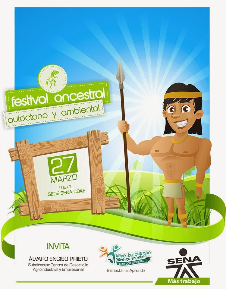 Festival Ancestral, Autóctono y Ambiental SENA CDAE 2014