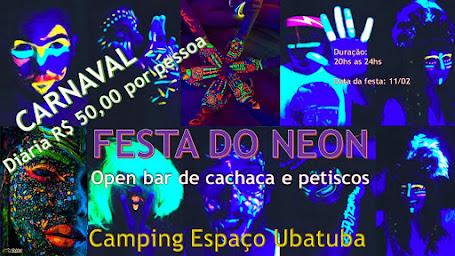 Carnaval 2018 CAMPING ESPACO UBATUBA