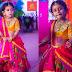 Baby in Anitha Reddy Lehenga