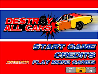 Games Flash Fisika: Destroy All Cars