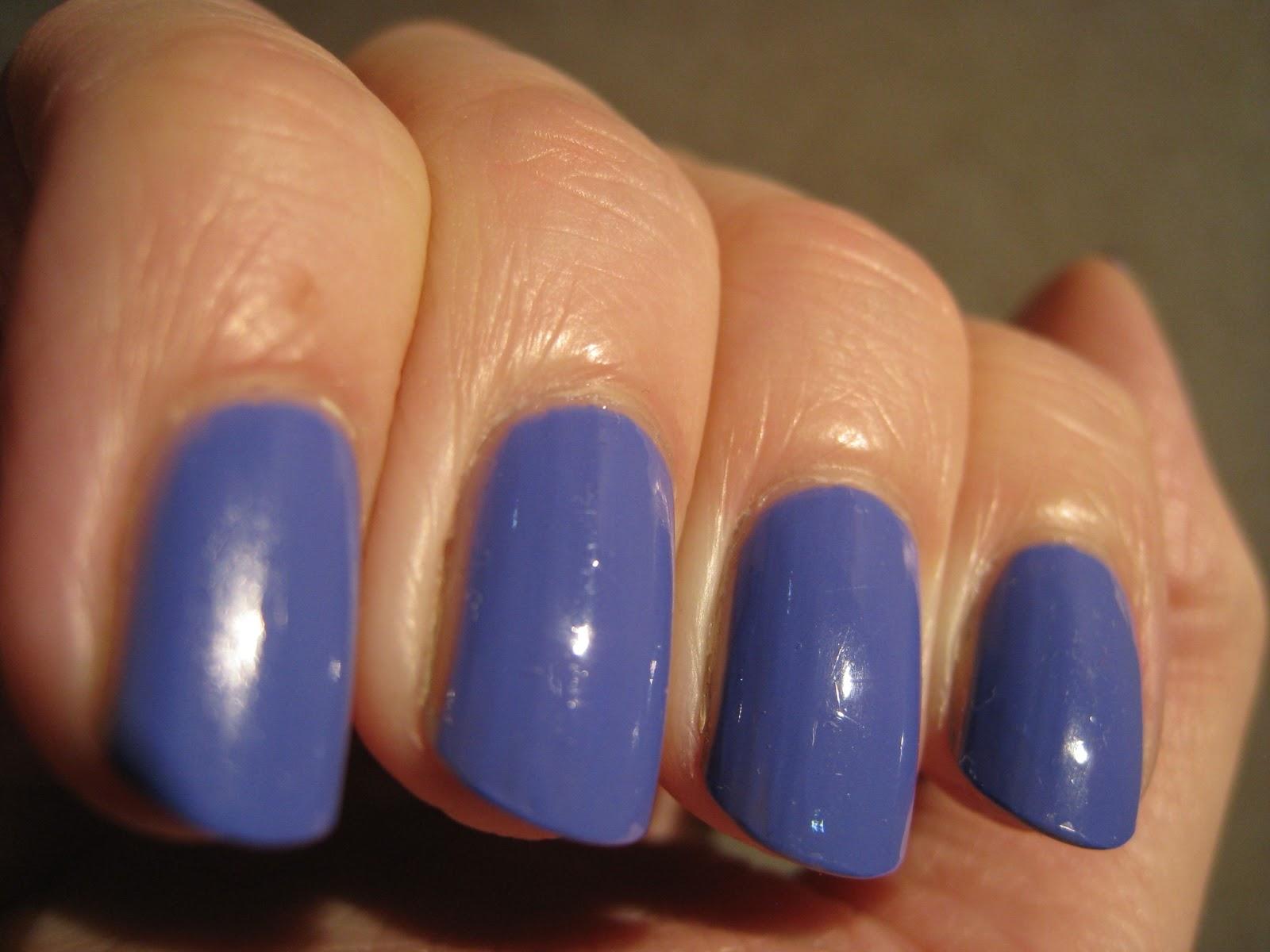 electric purple nail polish - photo #3