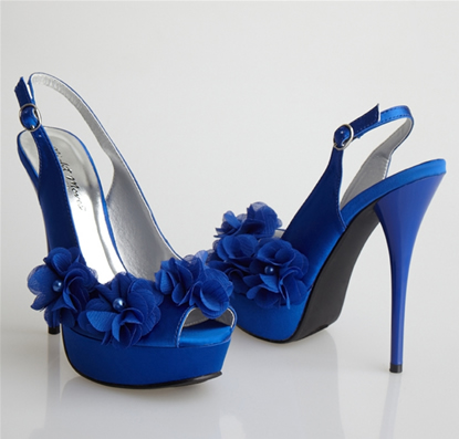 a wedding addict royal blue wedding shoes