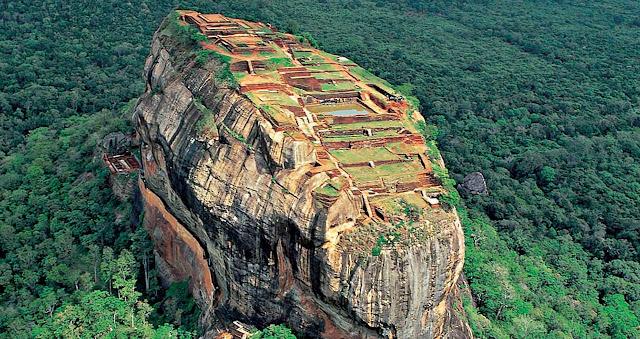 Một điểm tham quan ở Sri Lanka