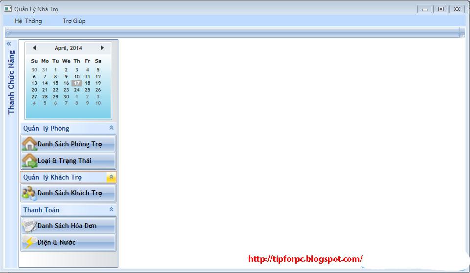 Source C# Mã nguồn Phần mềm Quản lý Phòng trọ