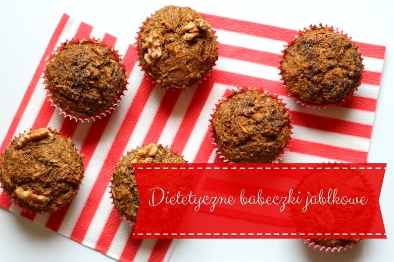 dietetyczne muffiny jabłkowe
