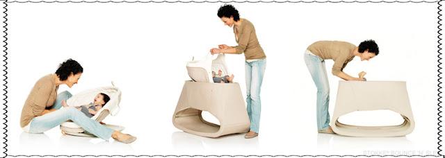 berços modernos para bebês mon maternité