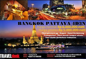 Paket Tur ke Bangkok & Pattaya