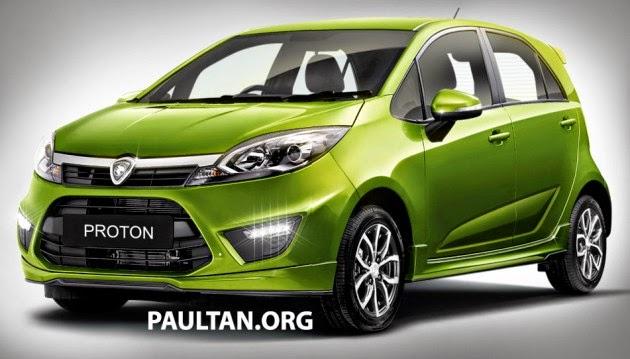 6 Gambar Proton Compact Car