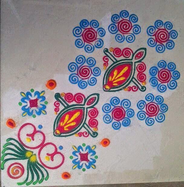 Yojna Kalaskar Kolam Designs 16