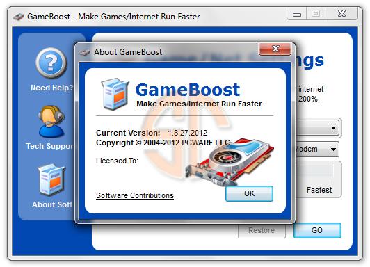 GameBoost Programı