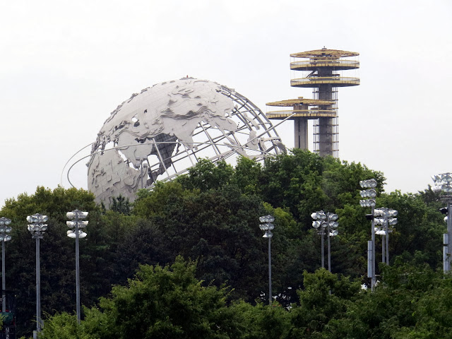The Unisphere of Flushing Meadows Park