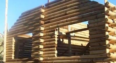 Arquitectura fb caba as de troncos relato breve de - Como hacer una cabana de madera ...