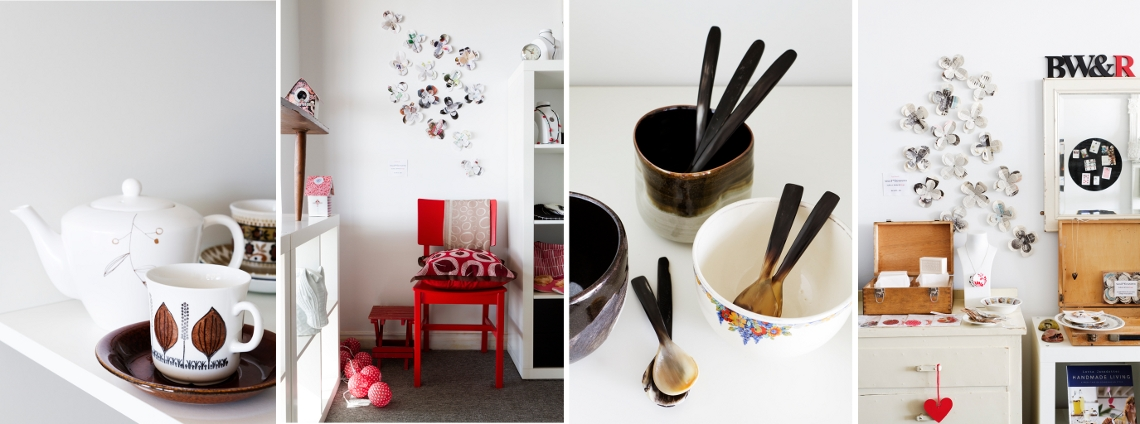 Black, White & Rouge. Daylesford. Homewares | Gifts | Vintage | Handmade