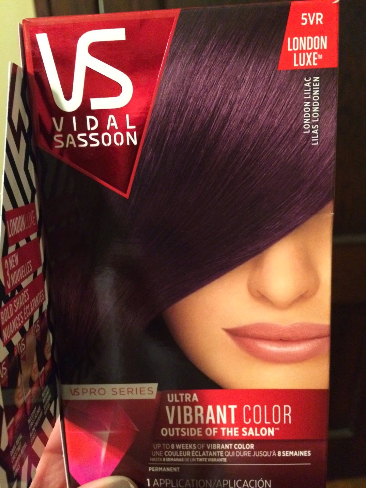 Pangies Lifestyle Vidal Sassoon London Lilac
