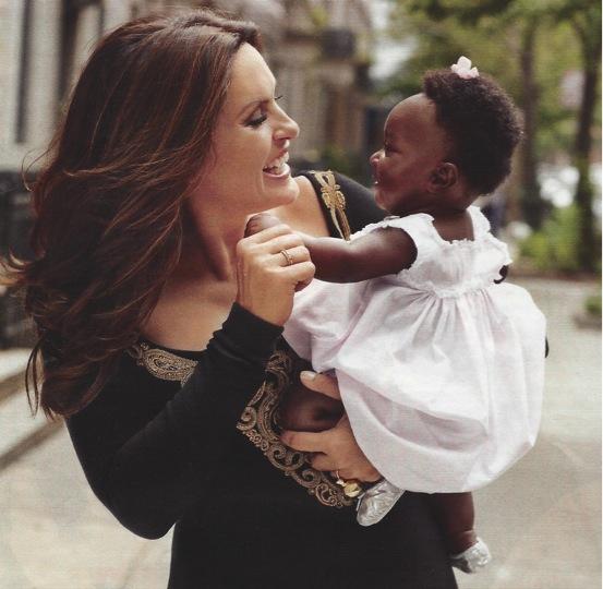 Mariska Hargitay Adoption Adoption Is a Powerful...