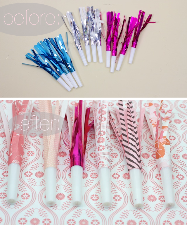 Happy New Year! DIY Party Blowers