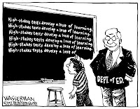 Dept. of Education's view of standardized tests