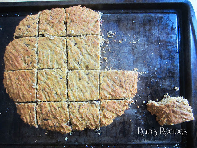 "Orange, Craisin & Walnut ""Scones"" by Raia's Recipes"