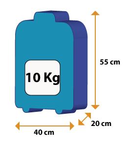 Le regole dei voli aerei ryanair co che meglio for Emirati limite di peso del bagaglio a mano