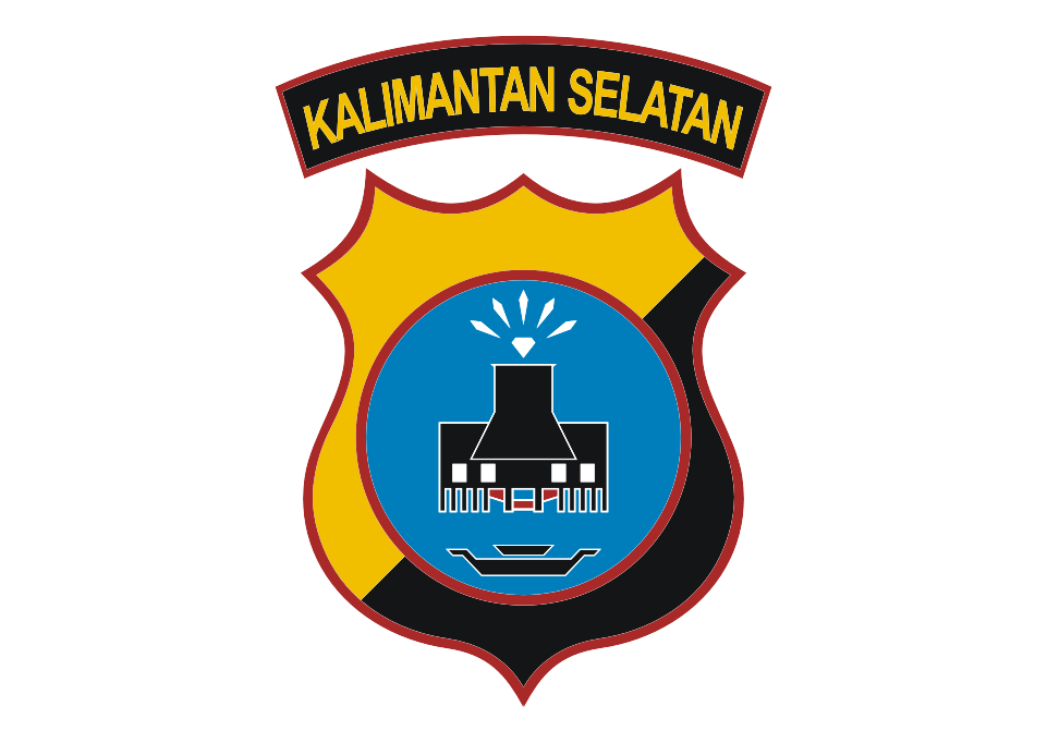 Download Logo Polda Kalimantan Selatan Vector