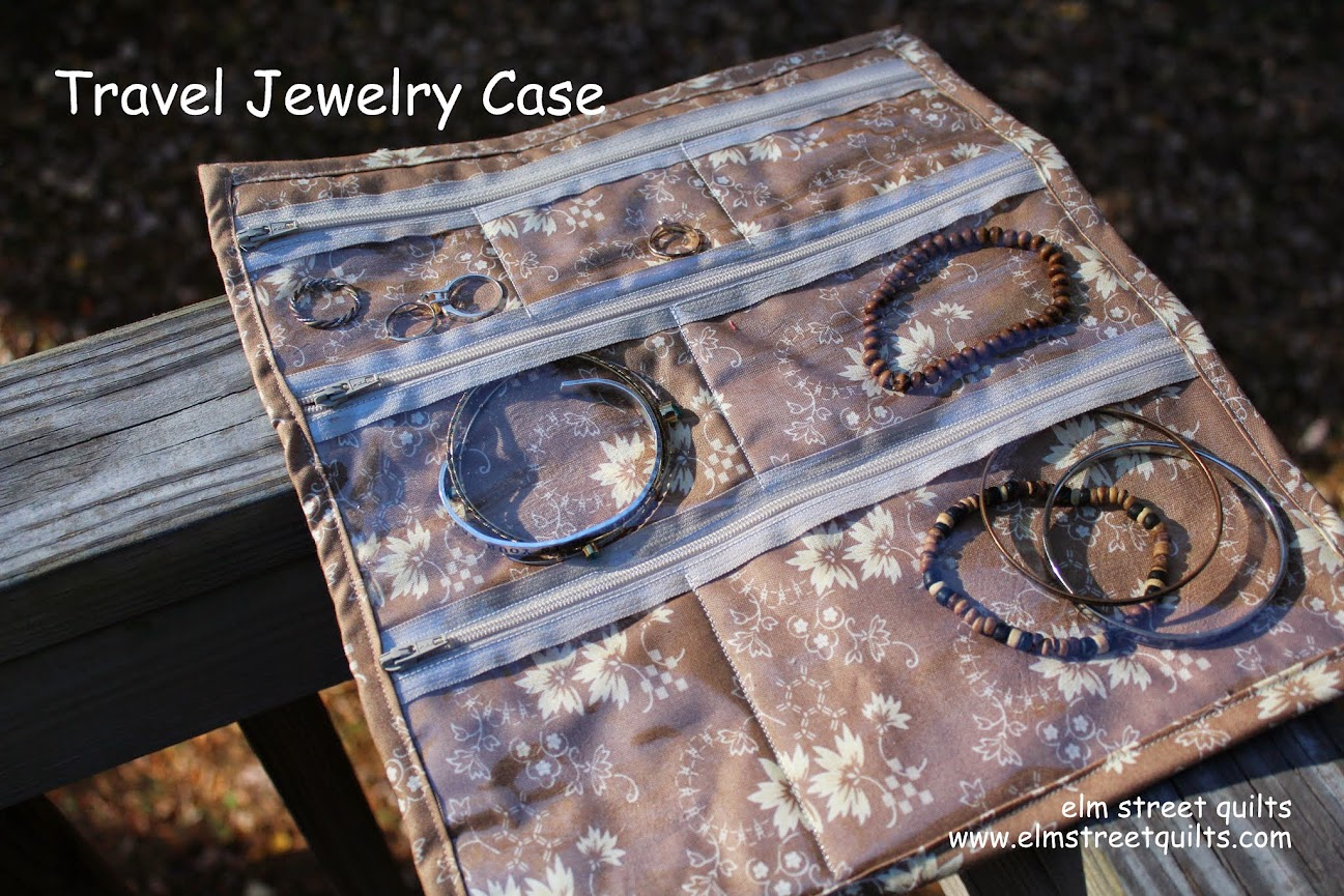 Pattern: Travel Jewelry Case
