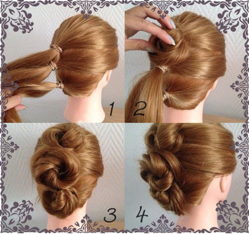 3Start From The Pinnacle One And Create Sure That Pins Arent Obvious 4Add A Few Hairspray Take Pleasure In This Cute Fashionable Hairstyle