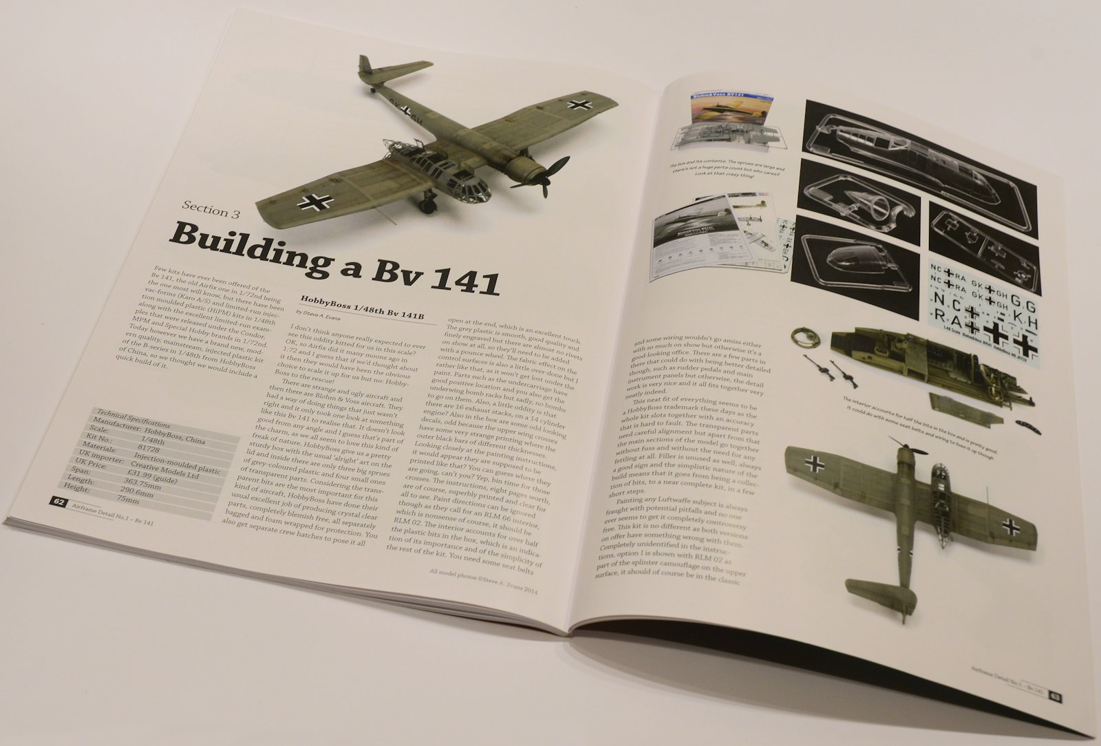 The Modelling News In Review Airframe Detail No1 Blohm Aircraft Wiring Books Lastly We Round Of This Title By A Collection Rather Thin On Ground Model Kits And Has Been Featured