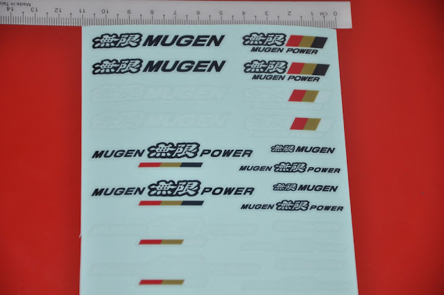 Mugen Power - Mini Sticker vinyl
