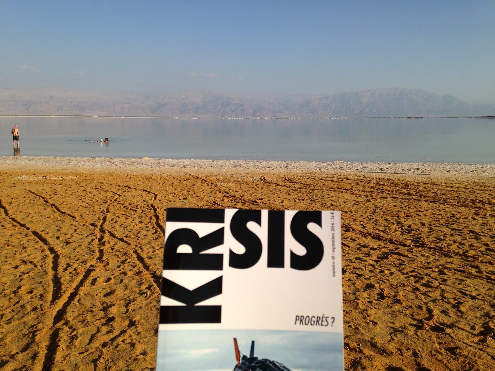 Krisis 45 en Israël, au bord de la mer Morte